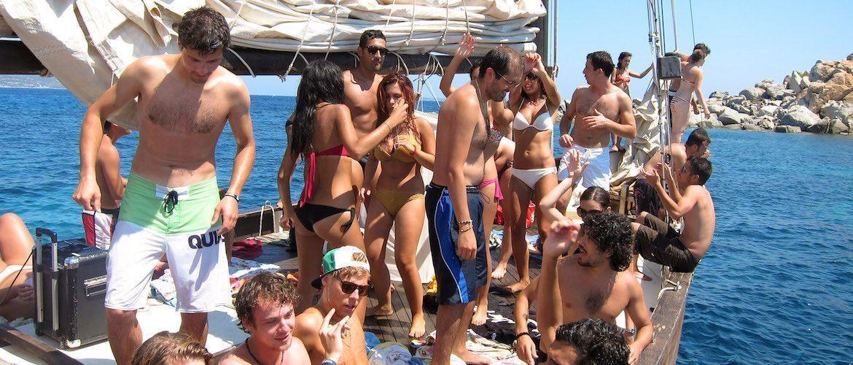 Fiestas en barco Tenerife
